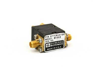 General Microwave M186B RF Attenuator /2000