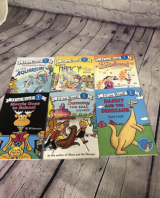 """Level 1 Readers~Lot of 6 """"I Can Read""""  *FREE SHIPPING*  B-1 #75"""