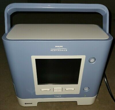 Phillips Respironics Trilogy 100 Ventilator w/Bluetooth, w/ Low hrs