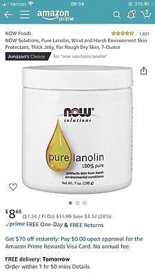 Now Solutions 100% Pure Lanolin New Lot 3