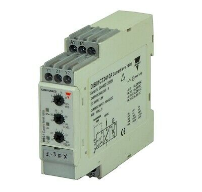 Current monitoring relay DIB01C72410A / 9783