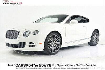 2015 Bentley Continental GT Speed Carbon Fiber Contrast Stitching Bright Chrome Ventilated Seats Massage Deep Pile