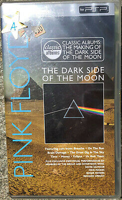 Sony PSP/UMD - PINK FLOYD - DARK SIDE OF THE MOON (The Making of) - 84 mins NEW!