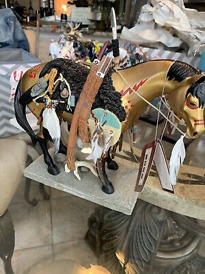 The Trail of Painted Ponies, LE RETIRED Medicine Horse Large Item# 12383,