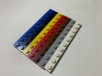 Pick your Colour  NEW Design 4477 Packs of 4 Plates LEGO 1x10 BRICKS