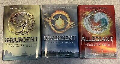 Divergent Series Volumes 1-3 Hardcover By Veronica Roth