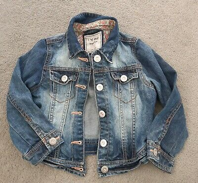 Girls Next Denim Jacket Age 2-3 Years