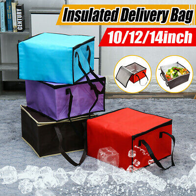 Large Heavy Duty Delivery Takeway Bag Size For Kebab Indian Chinese Pizza Burger
