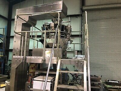 Weight Scale Platform Packaging Machine 2018 Valued Over$150,000.00