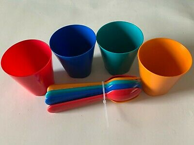 Mainstay - 12 Piece Set Kids / Toddlers - Cup - Fork - Spoon