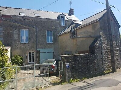Village Stone House in Normandy France