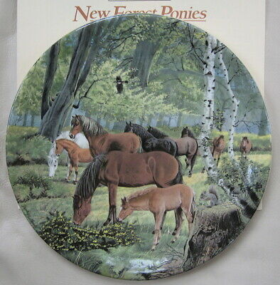 Britain's Wild Ponies Collectible Plates - New Forest