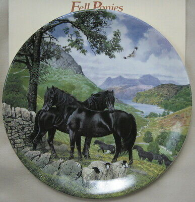 Britain's Wild Ponies Collectible Plates - Fell