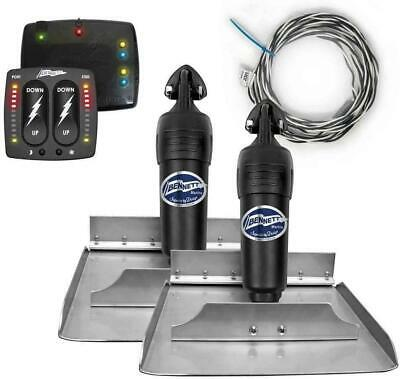 Bennett Complete Kit BOLT Electric Self-Levelling Trim Tab with Indication Contr