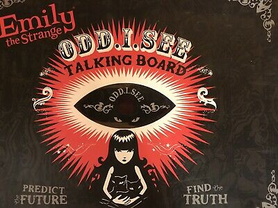 Emily The Strange 2009 Odd.I.See Talking Board Complete Rare OOP Free Shipping!