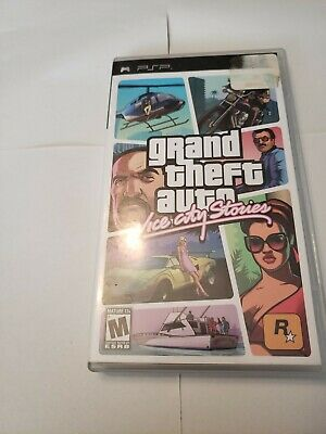 Grand Theft Auto: Vice City Stories greatest Sony PlayStation Portable PSP cib