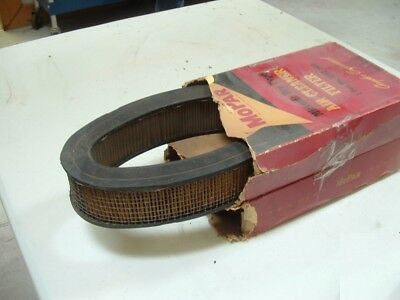 Chrysler C300, DeSoto Adventurer, Plymouth Fury Oval Air Cleaners Filter NOS