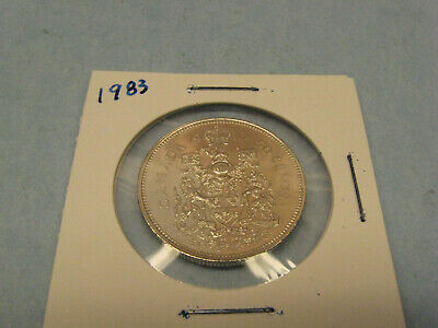 1983 Canada 50 cents  coin