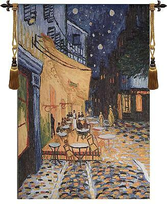 thick cotton Van Gogh Cafe Terrace On the Place Du Forum Tapestry Wall hanging