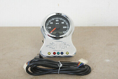 Independence Custom Speedometer & Wiring Harness for Harley Handlebar Mount.