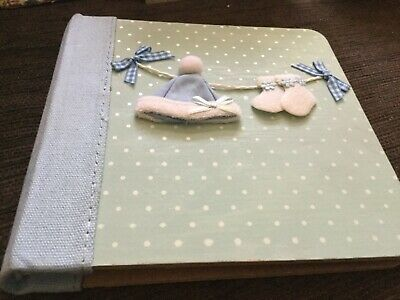 17.5x17x3 cm baby photo album opened never used Surplus to need