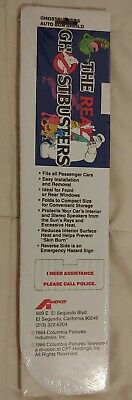 The Real Ghostbusters Auto Windshield Sun Shield Vintage 1986 Brand New