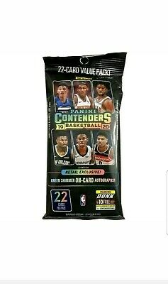 2019/20 Nba Panini Contenders Fat Pack *Zion* Ja Morant* Rookie Cards