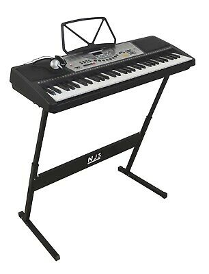 New Jersey Sound NJS800 Keyboard Starter Pack/ Christmas Gift🎹Stand, Headphones