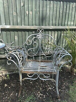 Pair Of wrought iron decorative Chairs.                      PRICE FOR BOTH