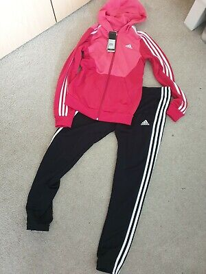 Girls Adidas Tracksuit Age 13-14 Years BNWT