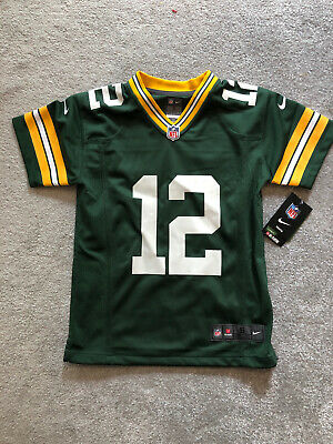 Nike NFL Youth Jersey Size Small.  Green Bay Packers Jersey -  Aaron Rogers 12