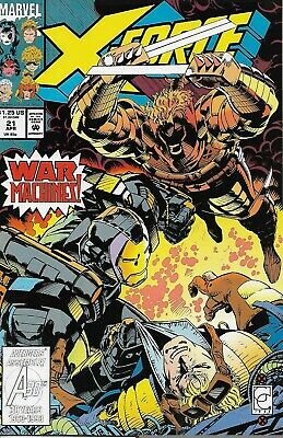X - Force Marvel Comics: 10 Issues X-Force Vol.1 No.21 to 30 (Pre owned)