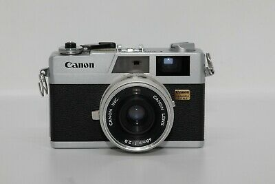 Canon Canonet 28, 35 mm rangefinder,40 mm f 2.8 lens,new light seals,film tested