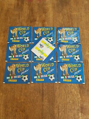 PANINI WORLD CUP STORY 1970-1990 X10 Sealed Packets Unopened
