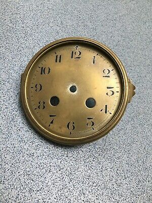 Brass Dial Bezel Antique Clock Case Spare Part Brass (A)Free Postage