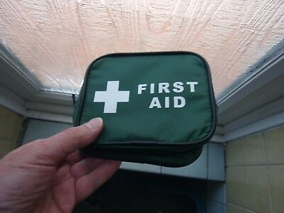 First Aid Travel Pouch 16 x 12 x 5cm with zipper Handy Size!
