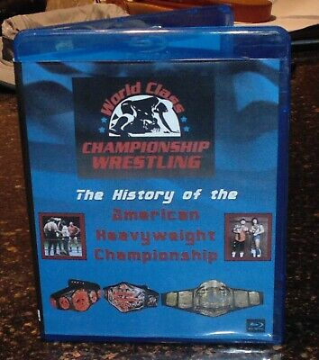 Best of the WCCW American Heavyweight World Title Championship Blu-ray history