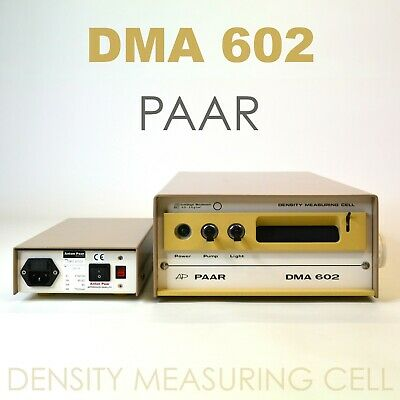 Anton Paar DMA 602 Density Measuring Cell and Power Outlet