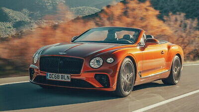 Poster Print Car Poster 0060 2015 BENTLEY CONTINENTAL GT CONVERTIBLE