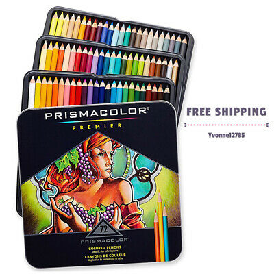 Prismacolor Premier Colored Pencils Set of 72 Assorted Soft Core Color Pencils