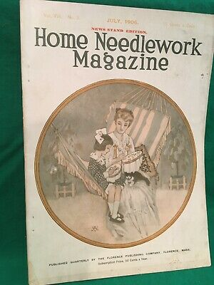 Home Needlework Magazine, July 1906