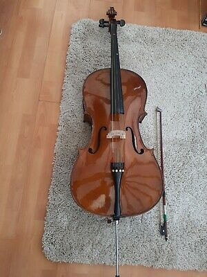 Stentor Student 2 1/2 Size Cello with bow and soft case.