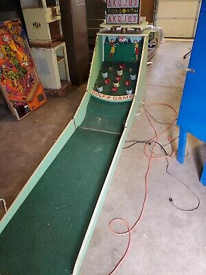 Rare Early coin operated op golf game arcade machine carnival piece kiddie ride