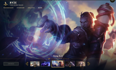 (NA) Riot Squad Singed | League of Legends LOL Account | 11 Champs | 2 Skins