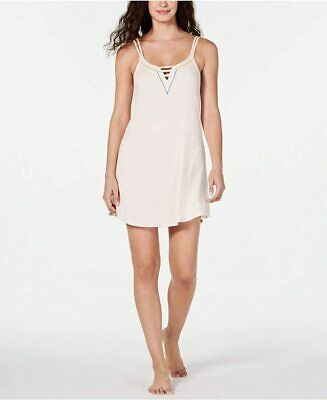 Jenni Ladder Front Scoop-Neck Chemise Nightgown Sizes SM & XL NWT