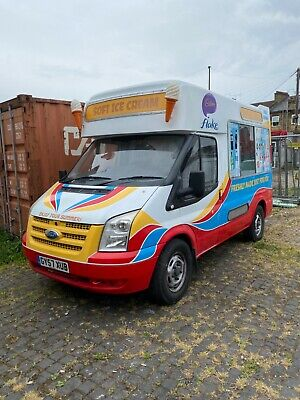 Ice cream van forD transit 2007 recently completed