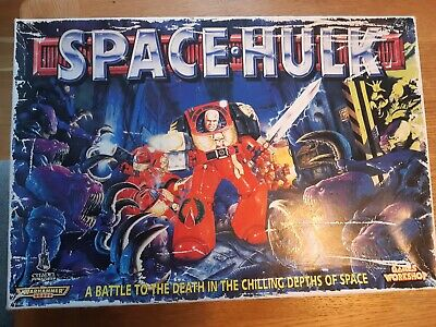 SPACE HULK Board Game 2nd Edition (1996) Games Workshop