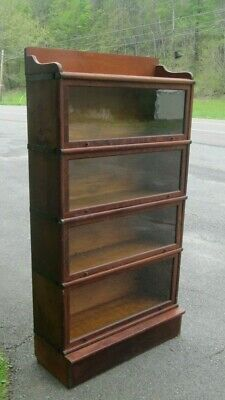 1895 wernicke system elastic barrister  bookcase prior to globe wernicke