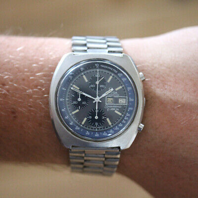 Rare Luxury Vintage Omega Speedsonic f300hz Chronometer With Papers Day Date