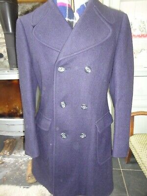Austin Reed Charcoal Wool Cashmere Overcoat Size 36 38 By Rodex Of London 79 95 Picclick Uk